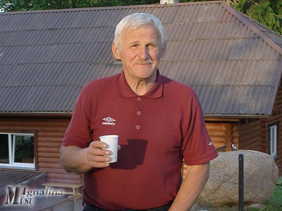 Šventės organizatorius Pranas Zubrickas