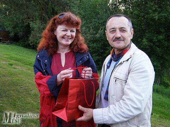Artėjantis rajono tarybos nario Viliaus Cibulsko gimtadienis pažymėtas prizu