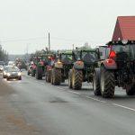 Protestuodami žemdirbiai reikalauja teisingumo ir pagarbos