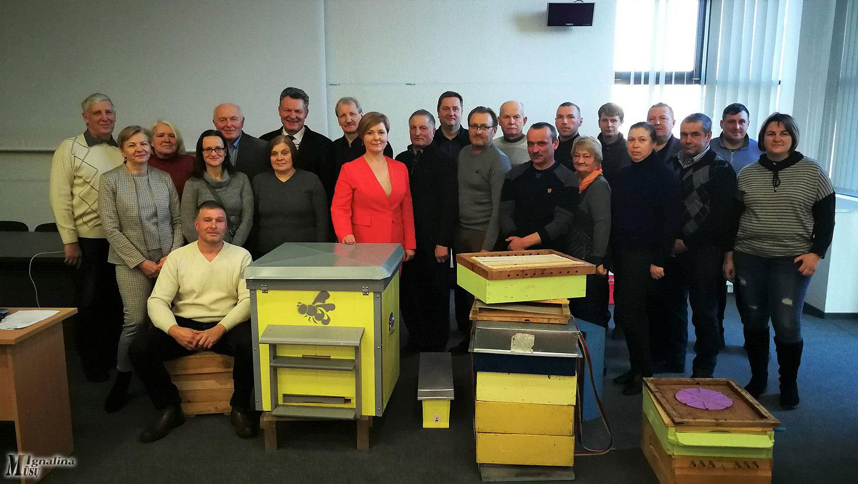 Ignalinos bitininkų bendrijoje – išskirtinis susitikimas
