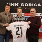"""Paulius Golubickas oficialiai pristatytas """"Gorica"""" klubo fanams"""