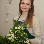 Išradingoji Liudmila Jankot – savo pašaukimą atradusi floristikoje, gėrį skleidžia kitiems