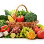 Kokių daržovių ir vaisių reikia organizmui?
