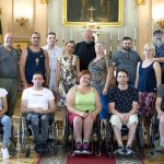 Neįgalieji su judėjimo negalia Ignalinoje mėgavosi gyvenimu