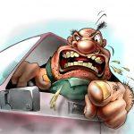 Užstatyti automobiliai ir atlenkti valytuvai