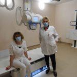 Ligoninė džiaugiasi moderniu rentgeno aparatu ir savo profesionalais