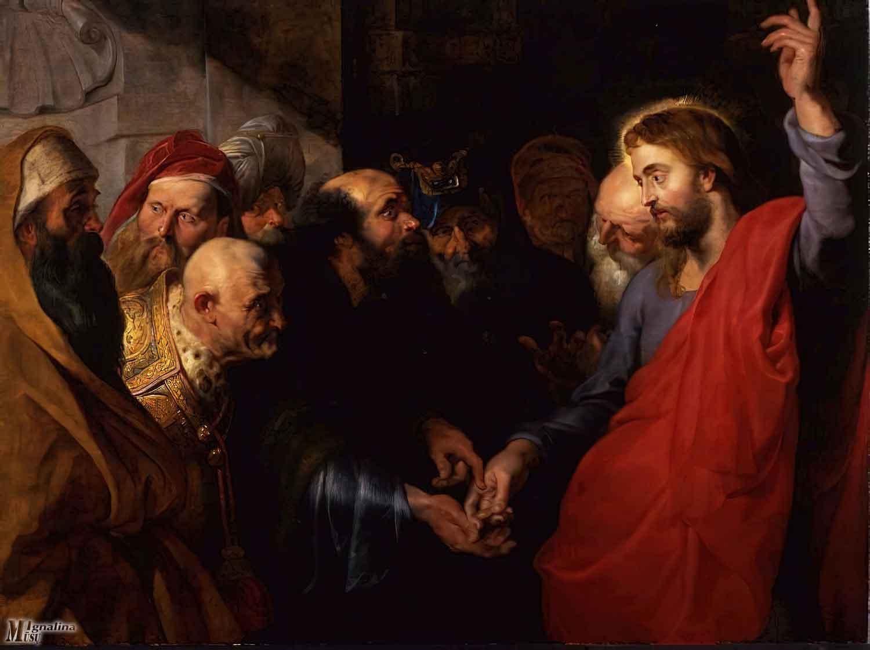 """Peteris Paulas Rubensas, """"Ciesoriaus moneta"""", 1612–1614 m. Wikipedia.org nuotr."""